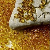 311 Preciosa Czech Seed Beads Topaz Yellow – 10050, 8/0, 50 pcs