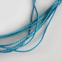 Blue Cotton Cord, 2 mm, 5 m