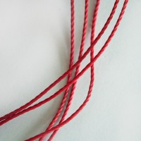 Red Cotton Cord, 2 mm, 5 m