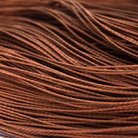 Brown Cotton Cord, 1 mm, 5 m