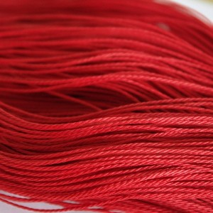 Red Cotton Cord, 1 mm, 5 m