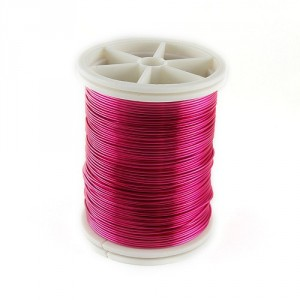 Pink Jewerly Wire, 0.6 mm, 15 m