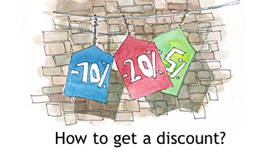 How to get a discount
